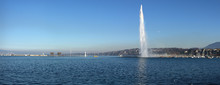 Panoramic View On Geneva Lake ...