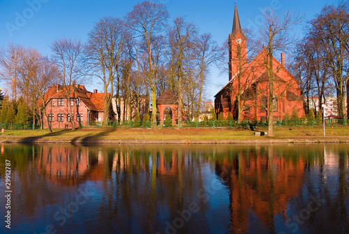 Fotografiet View in the Poland,Pila