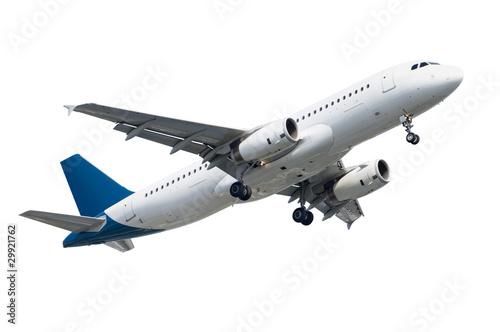 Montage in der Fensternische Flugzeug airplane