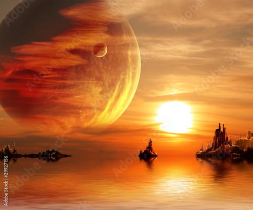Fantasy sunset - 29927156