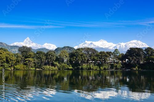 Photo Stands Phewa Lake