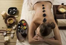 Spa. Stone Massage. Dayspa