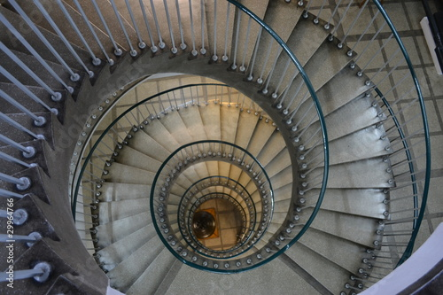 Fototapety, obrazy: Circular stairs