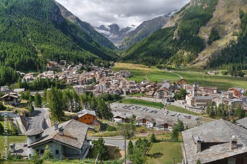 Cogne, Aosta Valley, Italy Canvas Print