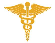 Medical Caduceus Symbol