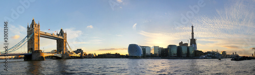 Foto op Canvas Londen London Tower Bridge Panorama