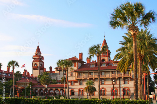 St. Augustine City Hall & Lightner Museum, Florida, USA Wallpaper Mural
