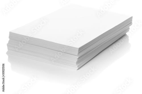 Fotografie, Obraz  Stack of Paper