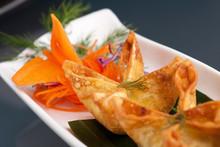 Thai Crab Cream Cheese Wontons...