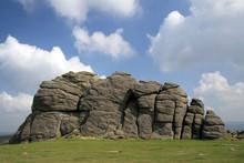 Hound Tor On Dartmoor, Devon