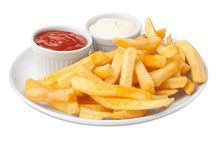 Serving French Fries