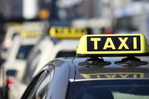 Canvastavla Taxi