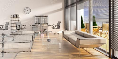 Superior Modern Office Lounge
