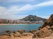 Mediterranean bay.