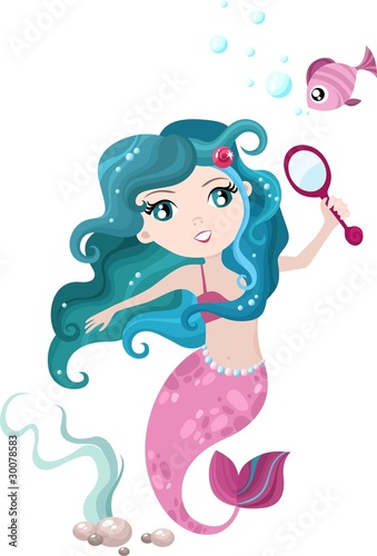Papiers peints Mermaid mermaid