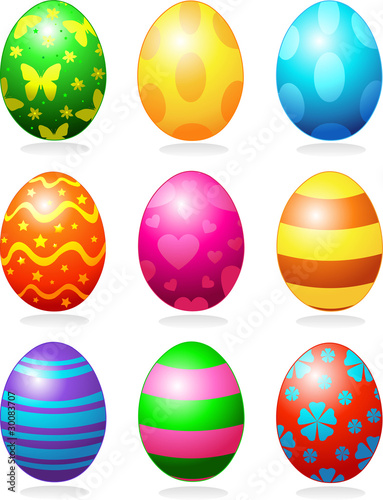 Photo  Easter eggs
