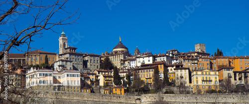 Fotografie, Obraz  Bergamo, città alta