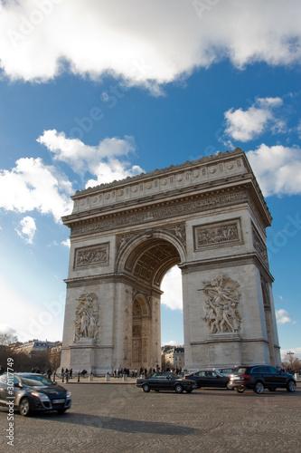 Poster Algerije The arc de triomphe (arch of triumph)