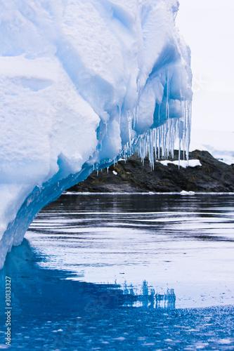 Foto op Aluminium Arctica Antarctic Glacier