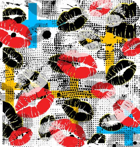 Lips background - 30136779
