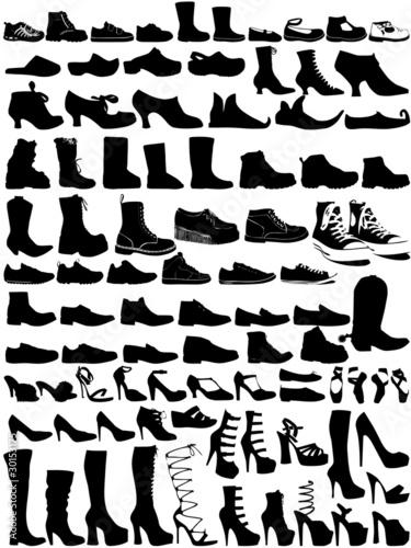 Fotografia  85 chaussures