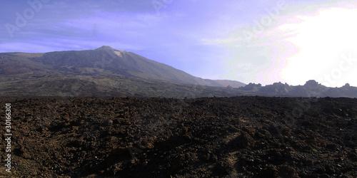 Spoed Foto op Canvas Grijze traf. Il Teide