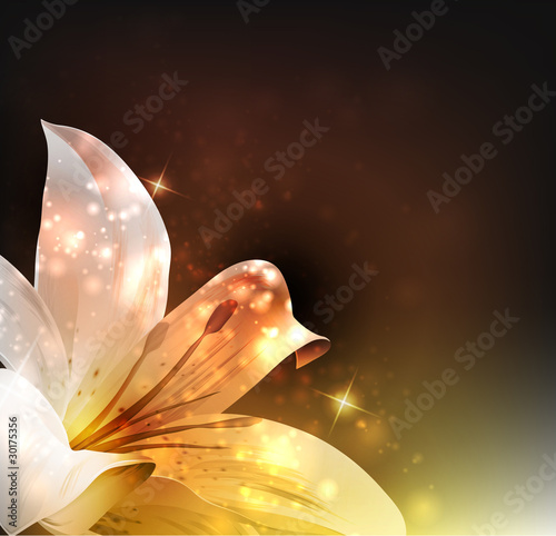 Flowers. Vector illustration.
