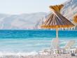 Tourist resort beach