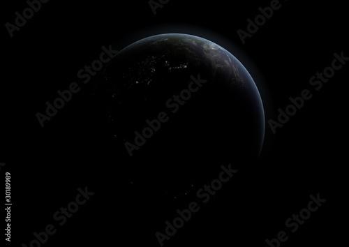 Fototapeta Planet Erde IV obraz na płótnie