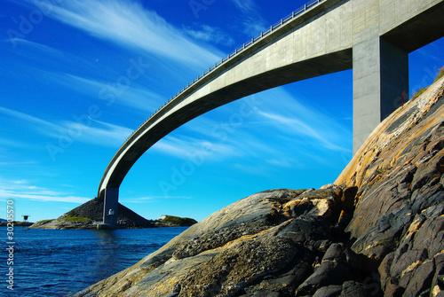 Dekoracja na wymiar malowniczy-krajobraz-norwegii-atlanterhavsvegen