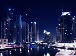 Fototapeta na wymiar City in the night
