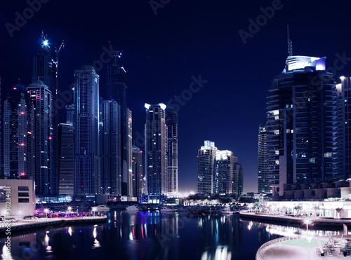 Obrazy na płótnie Canvas City in the night