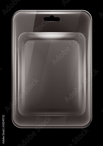 Fotografering plastic clamshell package