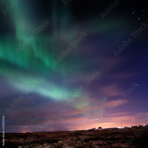 Photo  Aurora Borealis (Northern Lights)