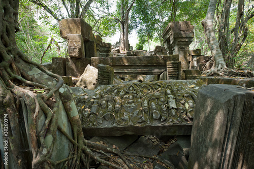 Foto op Aluminium Rudnes Beng Melea Temple