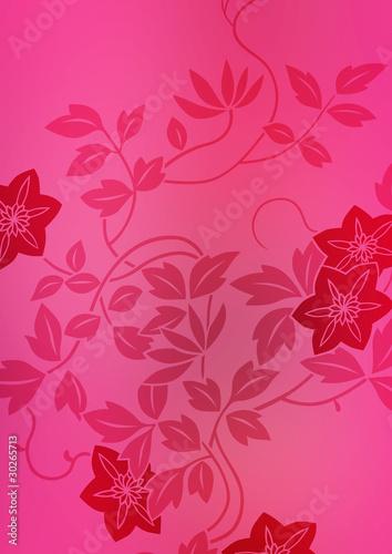 Staande foto Roze グラフィックパターン
