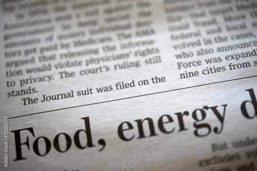 Fotobehang Kranten Newspaper