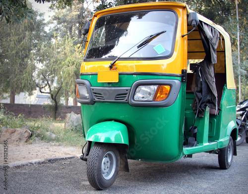 auto rickshaw Tapéta, Fotótapéta