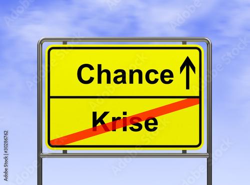 Photographie  Chance-Krise