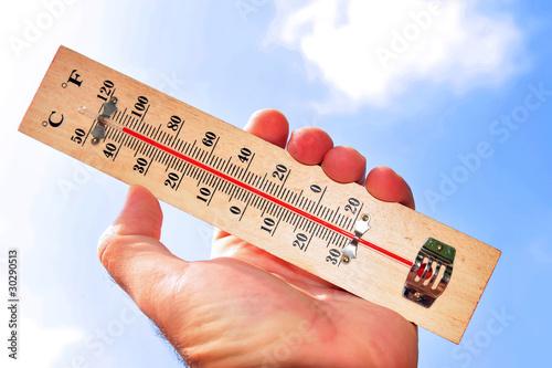 Fotografie, Obraz  Heat Wave High Temperatures
