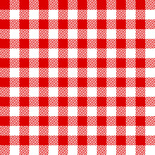 Seamless Pattern Red Check