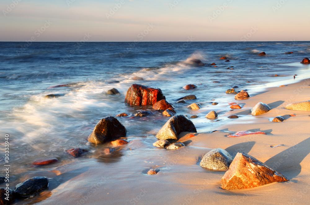 Coast in baltic