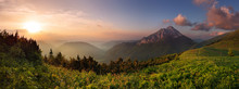 Roszutec Peak In Sunset - Slov...