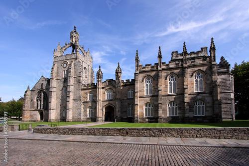 Aberdeen University King's College Building Wallpaper Mural