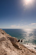 Cliffs overlooking Sea of Cortez, Mexico