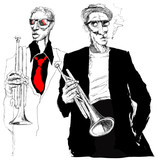 trumpet players - 30373918