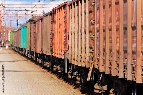 Fotografie, Obraz  Freight train