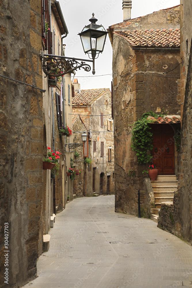 Fototapety, obrazy: Aleja w Pitigliano