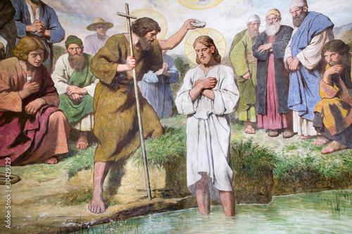 Fotografia Vienna - baptism of Jesus Christ
