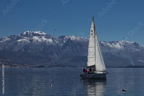 Poster Zeilen Yacht Sailing